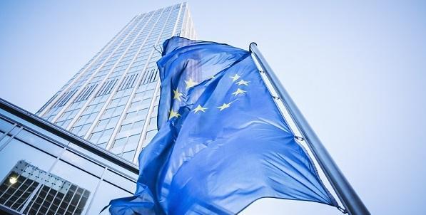 European flag ECB